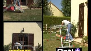 видео Лестницы-трансформеры Centaure TT4