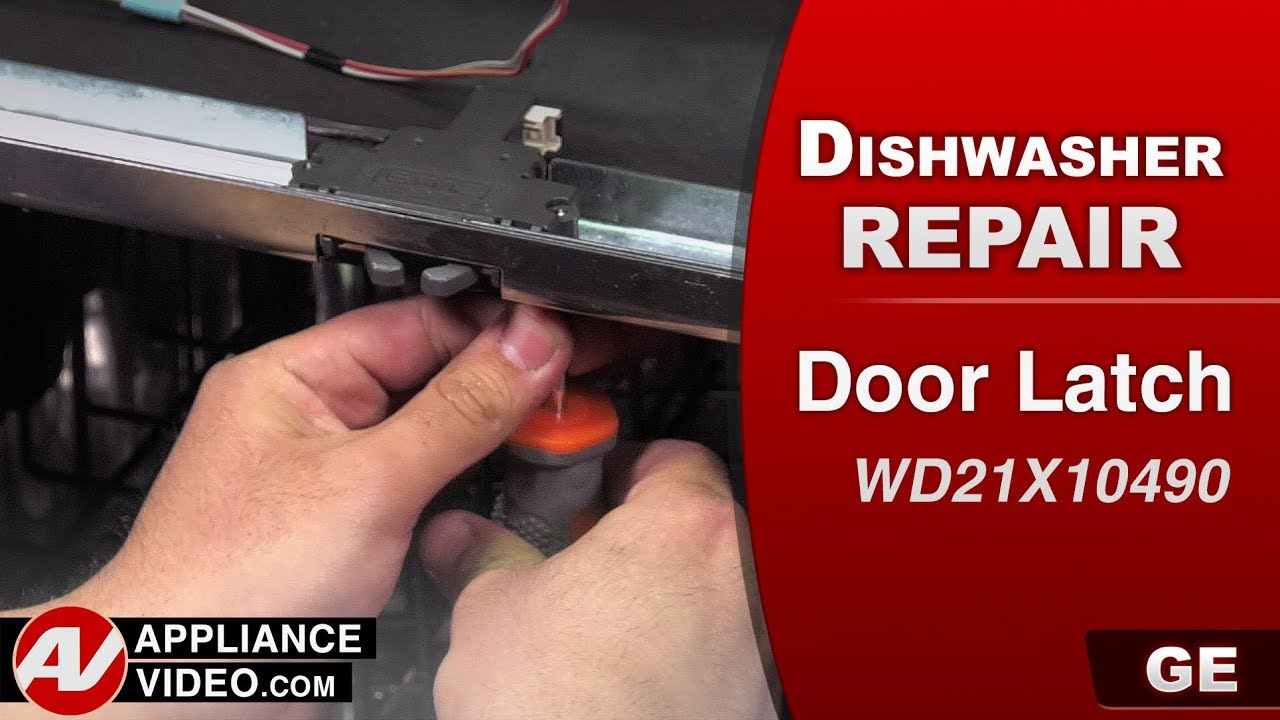 Ge Dishwasher Door Latch Problems Diagnostic Repair Youtube