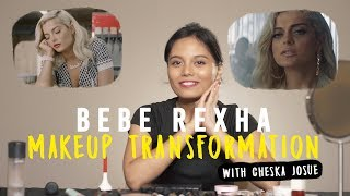 Bebe Rexha Meant To Be to Home Transformation Makeup Tutorial