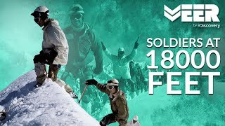 Climbing Machoi Peak in Challenging Weather | High Altitude Warfare School E4P5 | Veer by Discovery