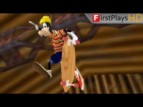 Disney's Extremely Goofy Skateboarding (2001) - PC Gameplay / Win 10