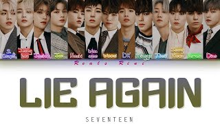 Download lagu LIE AGAIN - SEVENTEEN