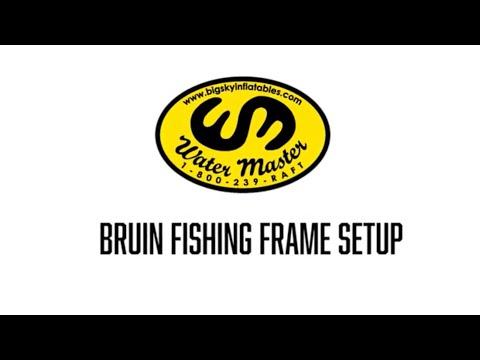 Water Master Bruin NRS Fishing Frame Set Up