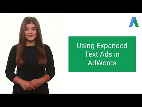 Using Expanded Text Ads in AdWords - AdWords In Under Five Minutes