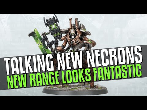 Talking NEW Necrons Models