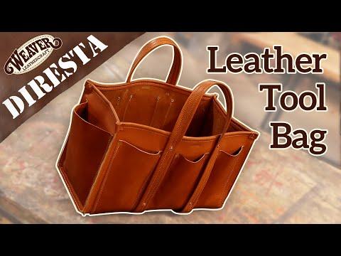 Jimmy DiResta Leather Tool Bag