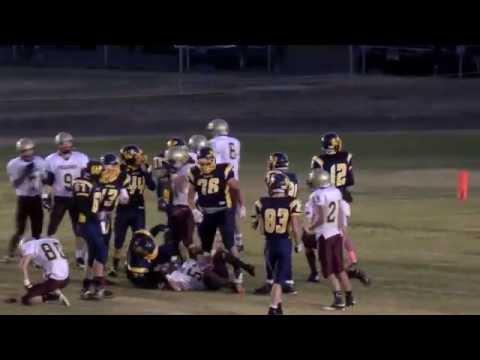 #6 Aaron Ward 2012 Football Highlights   Florence Carlton High School Falcons