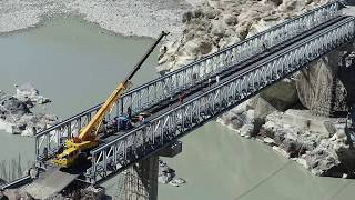 Mabey Bridge - 103.4m Delta™ Bridge built in Pakistan