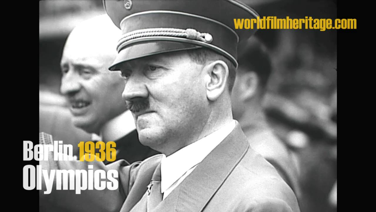 Berlin 1936 Olympics Olympia Adolf Hitler Compilation Youtube