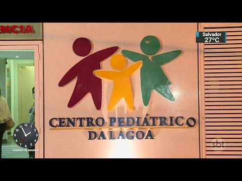 Bebê de seis meses é atingido por bala perdida dentro de escola   SBT Notícias (15/05/18)