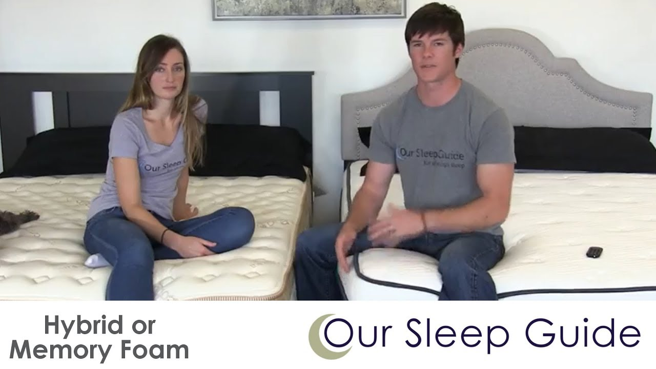 Hybrid Mattress Or Memory Foam The Pros Cons Differences How To A