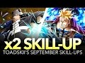 x2 SKILL-UP! SEPTEMBER 2016! (One Piece Treasure Cruise - Global)