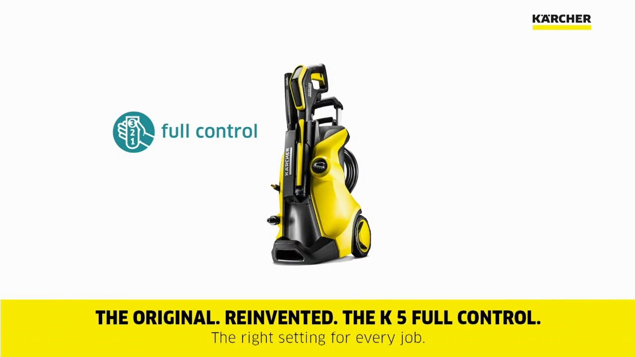 k rcher k5 premium full control home pressure washer youtube. Black Bedroom Furniture Sets. Home Design Ideas