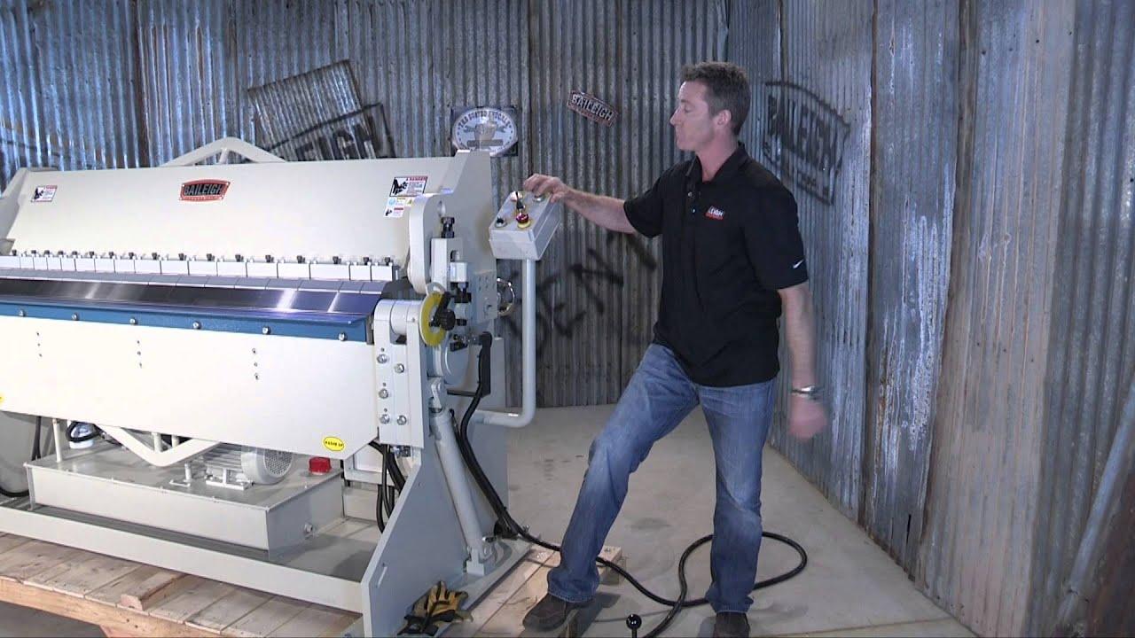 Baileigh Industrial Bb 7210h Hudraulic Box And Pan Brake