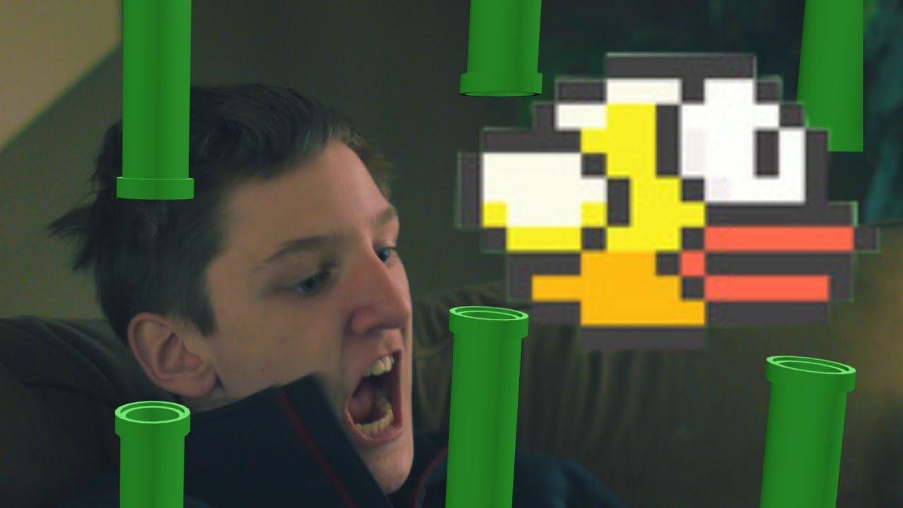 Real Life Flappy Bird Hack Animation YouTube - Flappy bird in real life