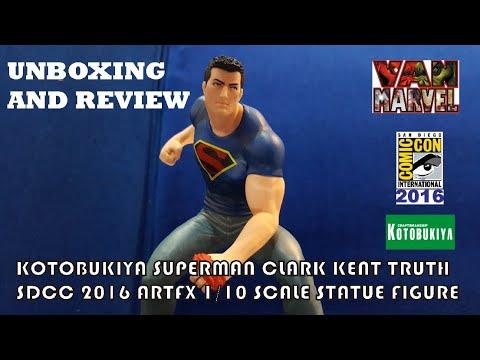Statue *NEW* DC Comics Clark Kent Truth SDCC 2016 Limited Edition 1//10 ArtFX