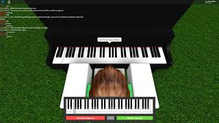 Roblox Virtual Piano Hatsune Miku - World is mine