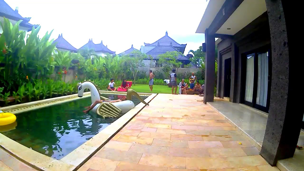 Liburan Seru At Swan Keramas Bali Villas Best Moments Youtube
