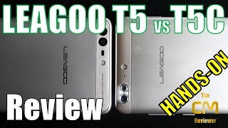 Leagoo T5 vs T5c Test: Leagoo what are happens? - Launcher mit Troja...