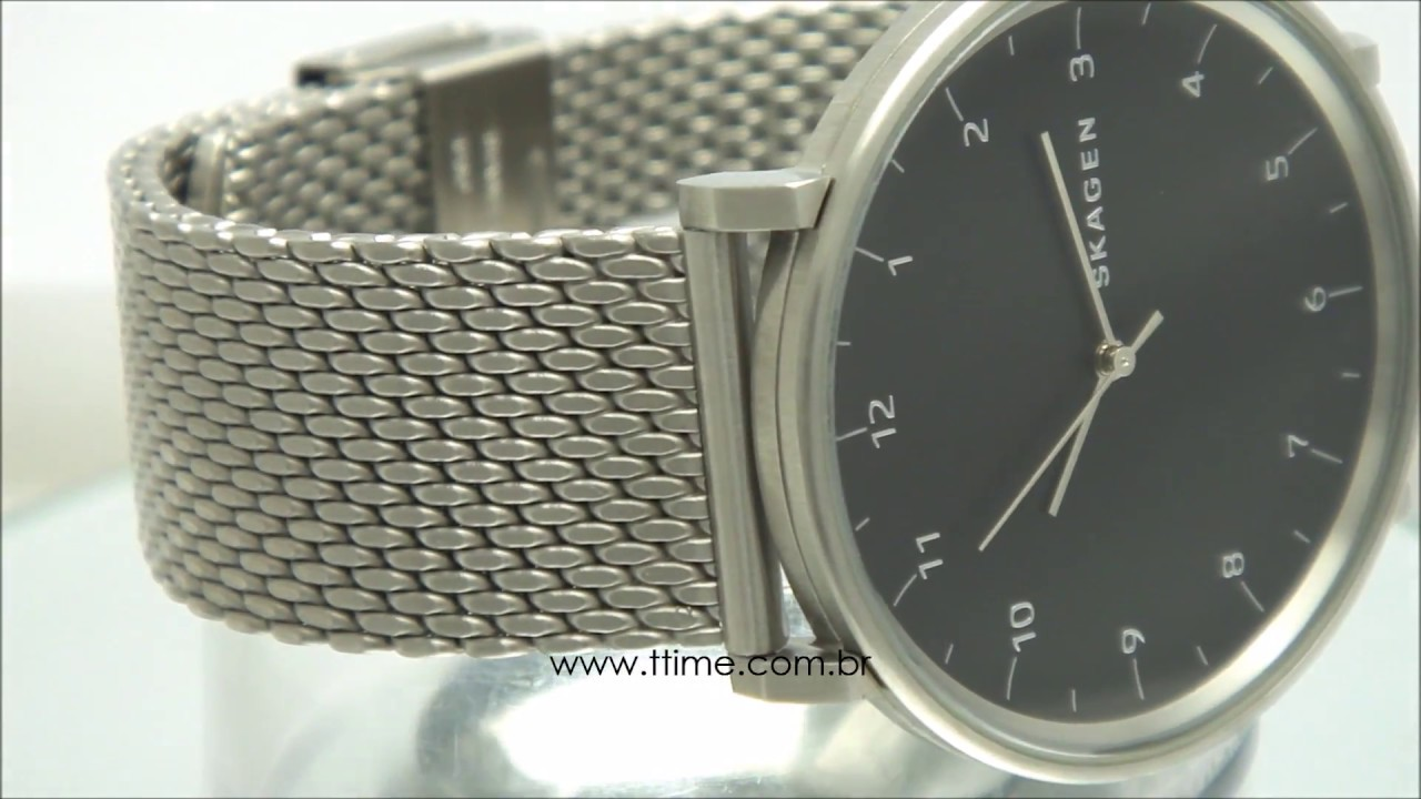 1492b289576 RELÓGIO SKAGEN MEN S SKW6175 Z - YouTube