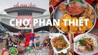 Chợ Phan Thiết: RẤT VUI, Nhiều loại cá lạ, Bánh canh chả cá RẤT NGON - Du lịch Phan Thiêt-Mũi Né #5