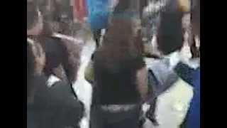 Chaos inside Walmart during Black Friday 2009