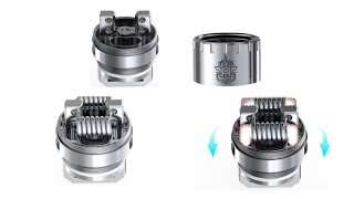 SMOK TFV8 RBA Build Vaping At 220 Watts