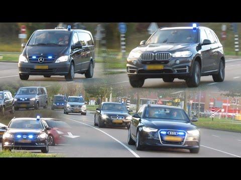 PRIO 1 - 8 voertuigen van arrestatieteam met spoed in Dordrecht voor onbekende inzet!