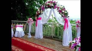 Свадебные арки (фото)