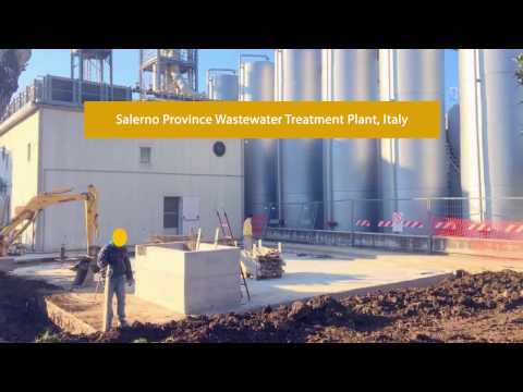Salerno Province Wastewater Treatment Plant