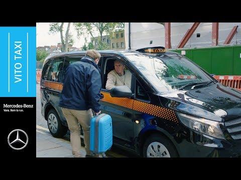 Mercedes-Benz Euro 6 Vito Taxi: Passenger Practicality