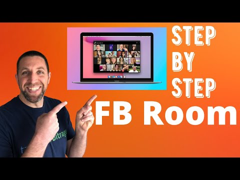 How To Start A Facebook Meeting Room Step By Step Tutorial