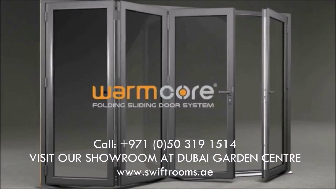 Warmcore Fold And Slide Doors Bi Fold Doors Dubai Advert 2017