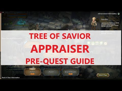 [ToS] Appraiser Pre-Quest Guide - Class Change