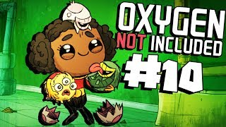 Air Filtration Tanks! - Ep. 10 - Oxygen Not Included Ranching Upgrade Mark II