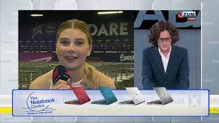 Michela Pace Interviewed on Xarabank (Pre ESC 2019 Chameleon Final)