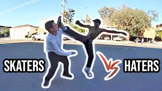 NEW - SKATERS vs HATERS | Angry People vs. Skaters Compilation.
