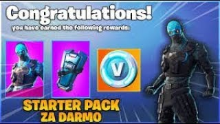 NEW STARTER PACK in FORTNITE!! * FREE! * HOW TO GET?