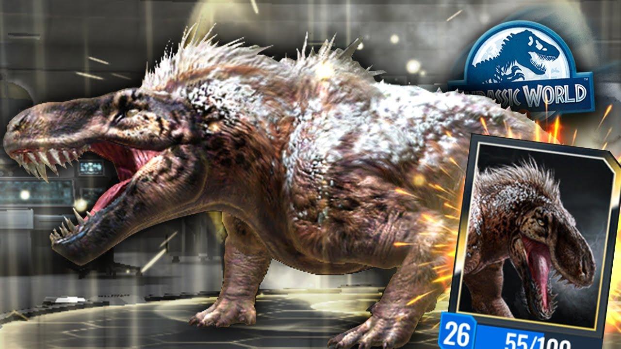 Jurassic World Alive || WOOLLY RHINO STRIKE MAX LEVLE 30 [Full HD]