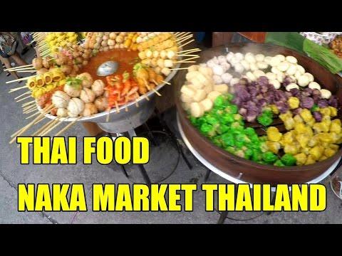 THAI FOOD NAKA MARKET PHUKET THAILAND V161
