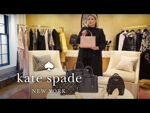 tiffany's top bags: satchels and the nylon sam bag | talking shop | kate spade new york