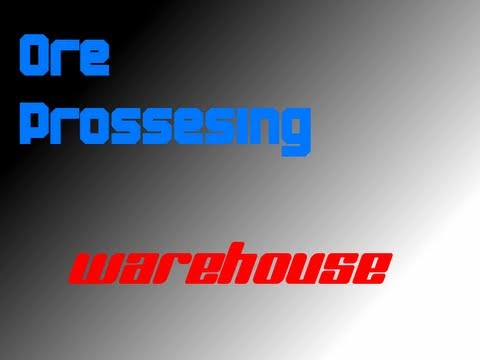 How to use logistic pipes to process ores - Warehouse