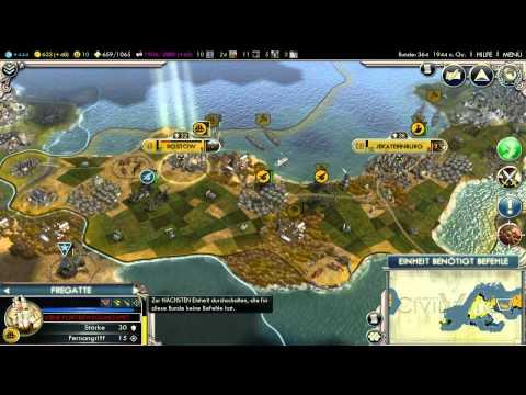 Let's Play Civilization 5 HD Part 57 - Ich räume auf |