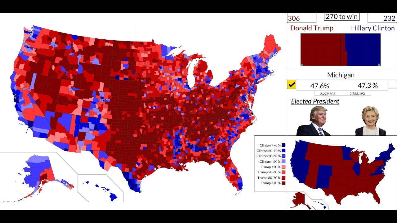 K HD American Presidential Election Results Map State By - Us presidential election results map