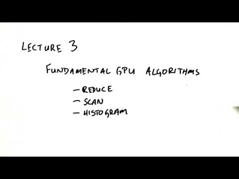 Fundamental GPU Algorithms - Intro to Parallel Programming
