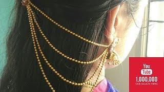 DIY BRIDAL EAR CHAIN