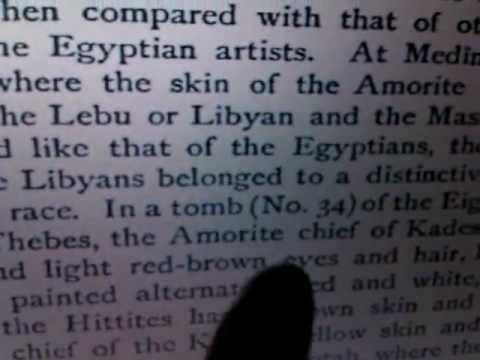 """The AMORITE X-Files: White Supremacy's """"Blond-Hair/Blue-Eyes"""" Racial, Biblical & Historical Origins"""