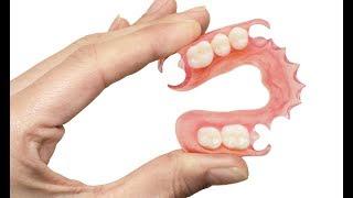 видео Силиконовые протезы зубов