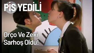 Orço Ve Zeki Sarhoş Oldu! - Pis Yedili 20. Bölüm