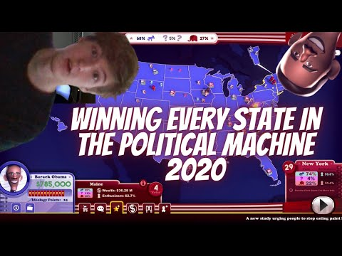 The Political Machine 2020 (Trying to Win Every State) |